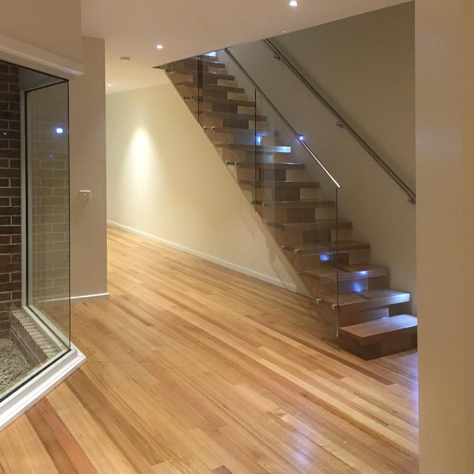 Heritage Homes flooring