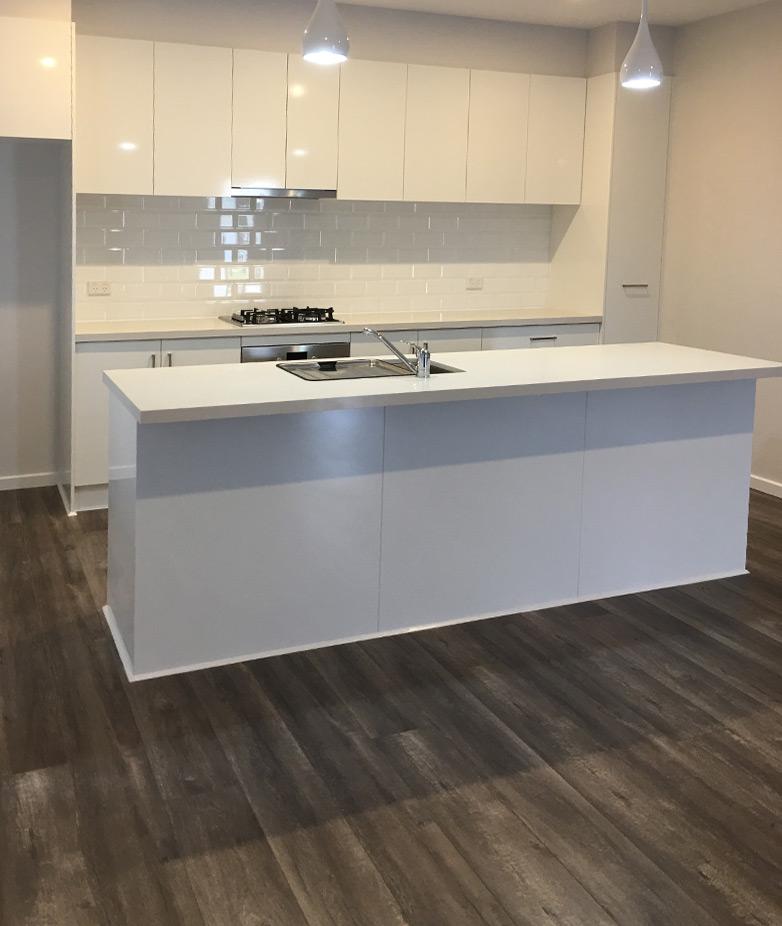 Double Storey Homes Kitchen design idea