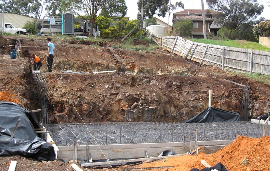 sloping site builders melbourne