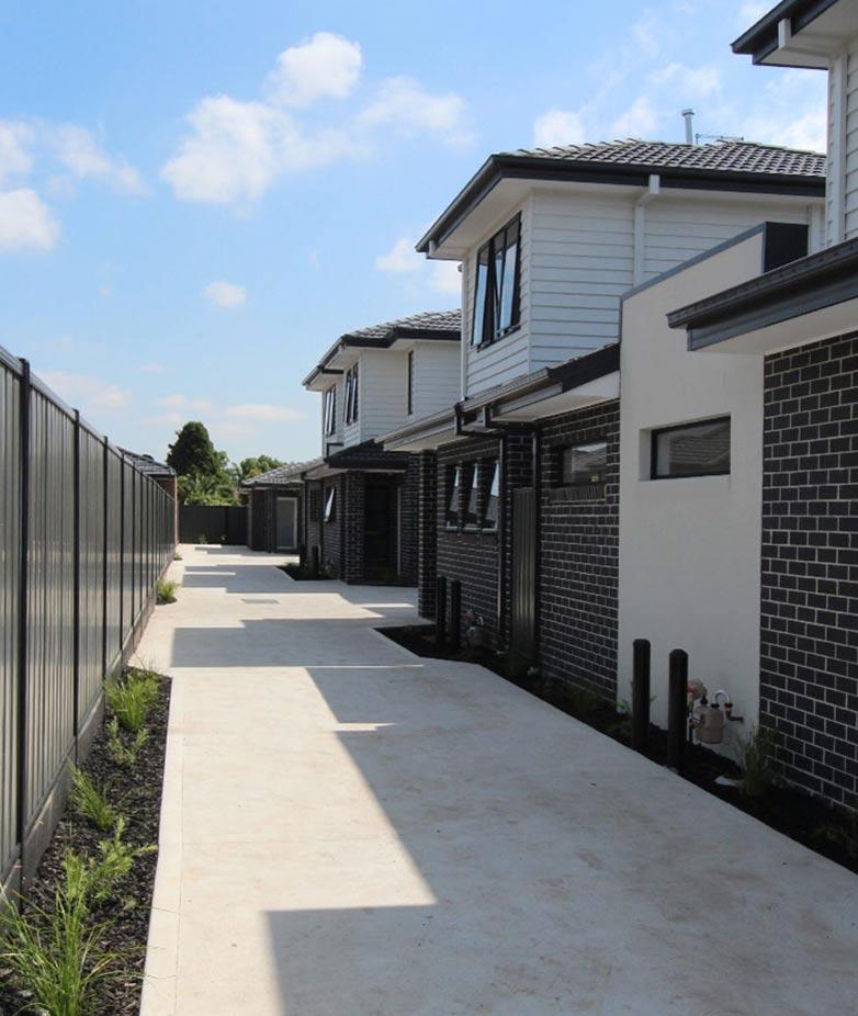 multi unit developments Melbourne